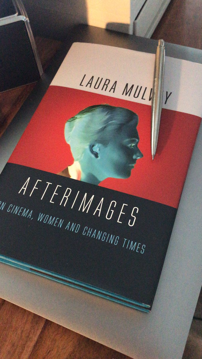 Lockdown reading #lauramulvey #lockdown #FilmTwitter #afterimages https://t.co/Ge51dT00DO