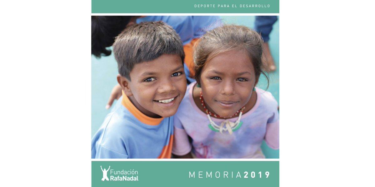 Ya está disponible nuestra #Memoria2019 ✅ Te explicamos los proyectos e iniciativas, los principales resultados y novedades, nuestras fuentes de financiación... entre muchos otros datos e información  🗒️https://t.co/K65umPXtcc #FundaciónRafaNadal #RafaNadal #transparencia https://t.co/nadzitTLDm