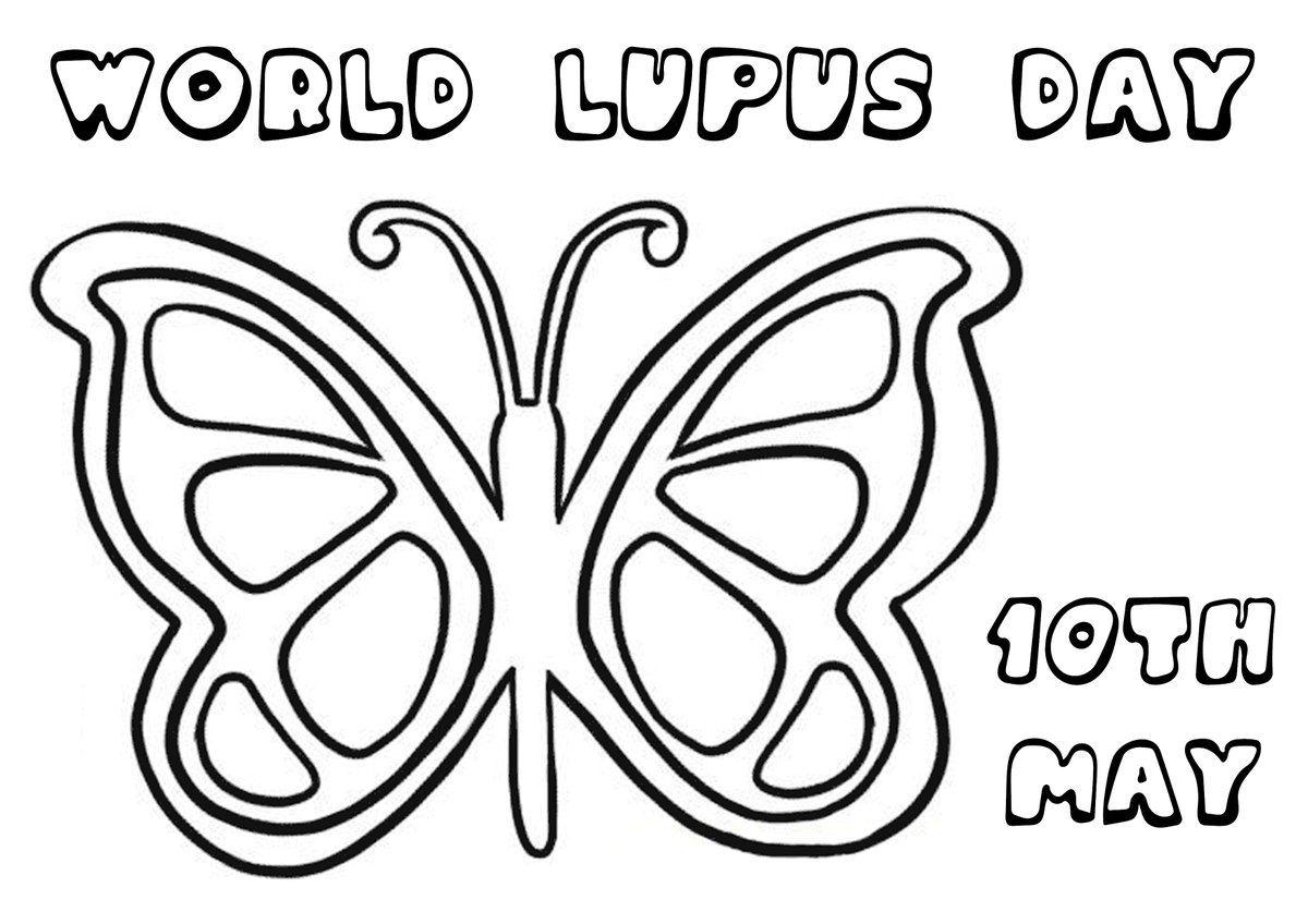 Please help us to raise awareness of #lupus on #WorldLupusDay (10th May) this year by creating your own butterflies to display in your windows and share on social media.  Find out how to get involved and get our helpful colouring sheet at https://t.co/dQX2A8Orei https://t.co/lVfBXKiNBm