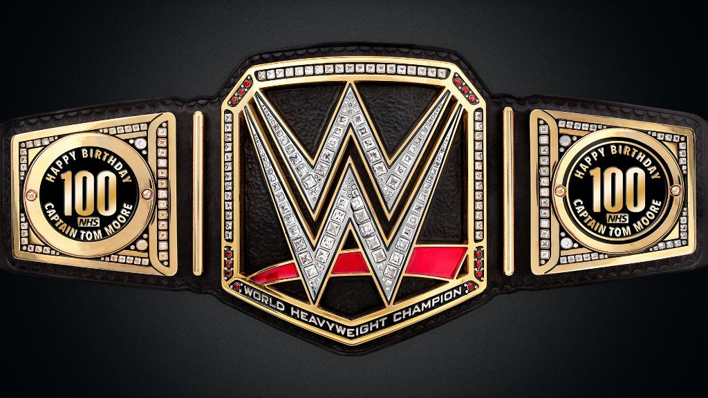 Drew McIntyre Sends Custom WWE Title To World War II Hero