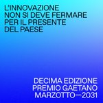 Image for the Tweet beginning: [Premio Gaetano Marzotto]  Premio Gaetano Marzotto