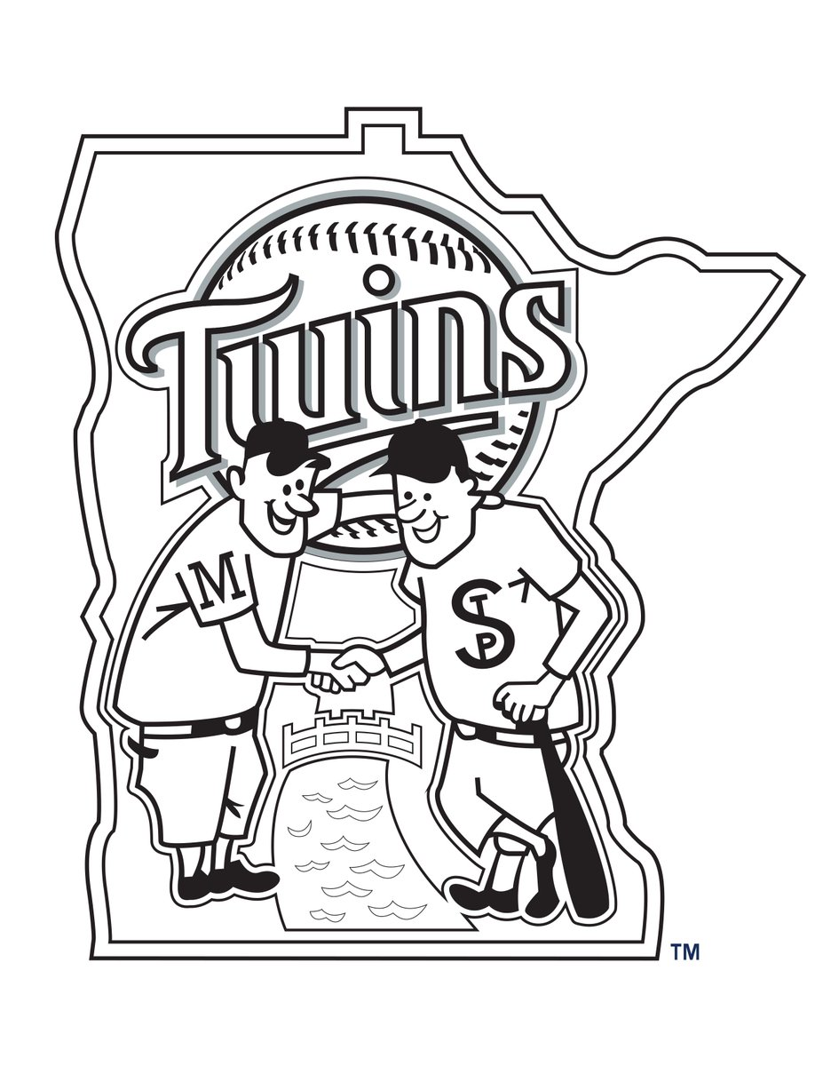 Minnesota Twins On Twitter Check Out Our Coloring Sheets For Kids Of All Ages Https T Co Jlyljl3loi Mntwins Coloring Sheets Presented By Eatatperkins Https T Co Reql4decem
