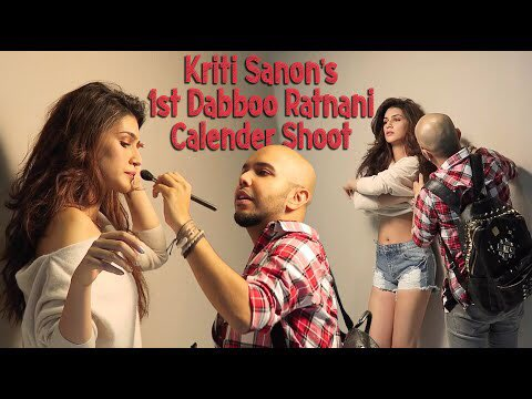 Don't forget to watch @shaanmuofficia's  latest vlog where he is getting @kritisanon ready for #DabooRatnani's Photoshoot