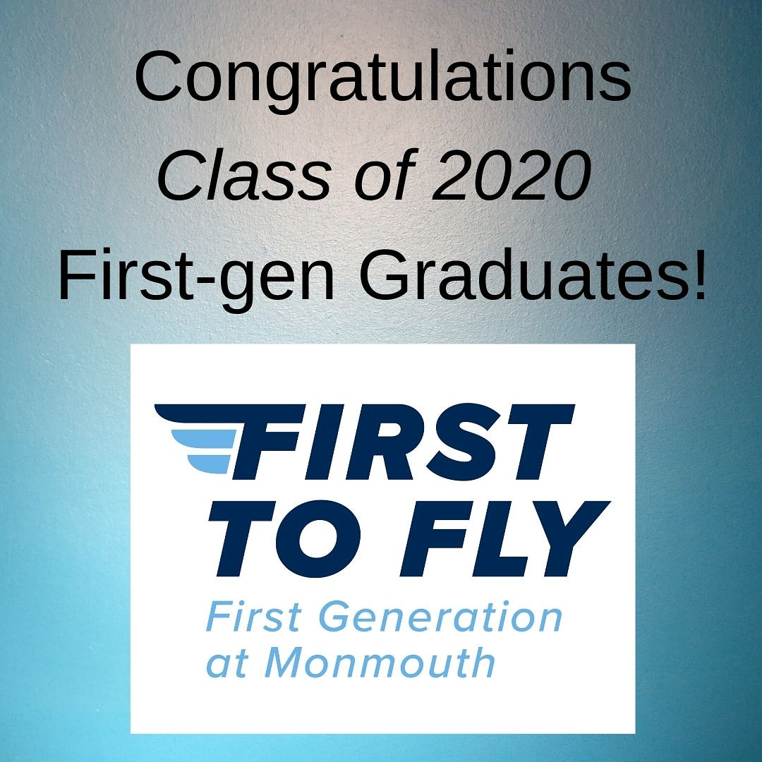 Congratulations Class of 2020! The @monmouthu Hawk Family takes so much pride in all our graduates who are First to Fly!  #FirstgenGraduates #firstgen #firstgenforward #hawkfamily #celebratefirstgen
