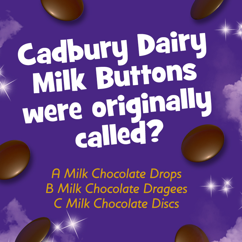 It's QUIZ QUESTION Tuesday! Let us know your answer in the comments 🤔🍫 #quiz #Cadbury #chocolate https://t.co/ReZfptIfqd