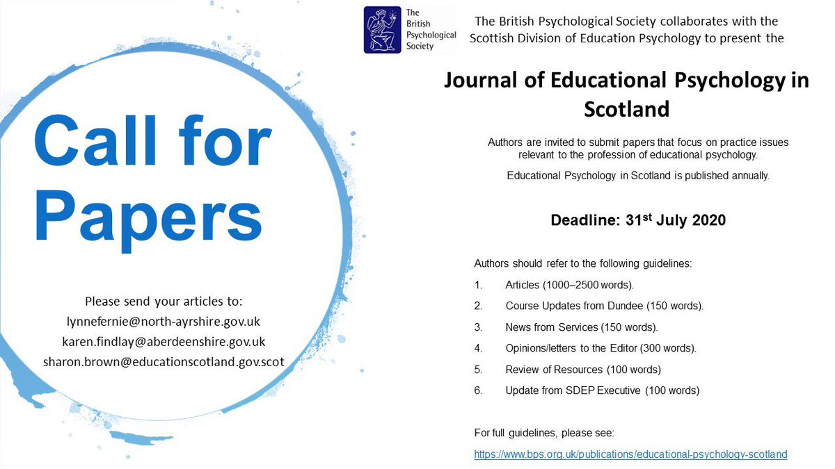 If you are doing a piece of research or an intervention maybe COVID19 related but doesn't have to be please consider EPIS journal #sharing @DundeeTEPs https://t.co/Z0DWfr6xwz