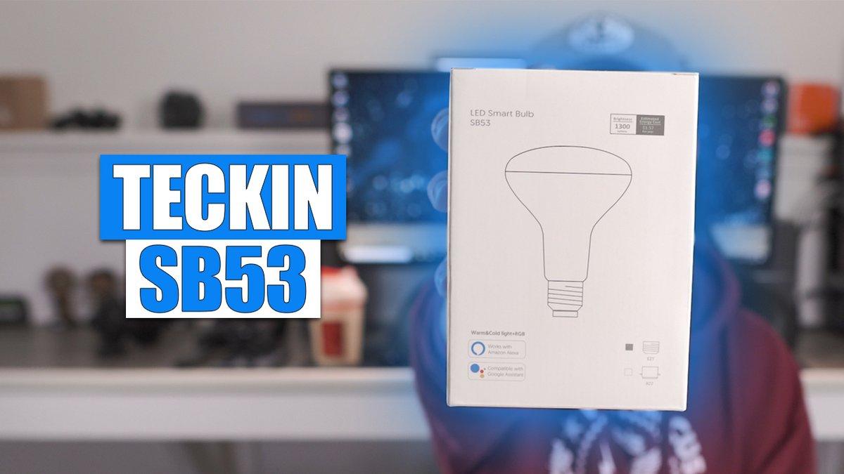 WOW! This thing is BRIGHT! Checkout this 1300 Lumen Smart RGB LED Bulb: https://youtu.be/m3fTx9798BQ  #Teckin #HomeAutomation #SmartBulb #RGBLED #RGBBulb #StudioLight #GoogleAssistant #Tech #Gadgetspic.twitter.com/NlOHBKL88o