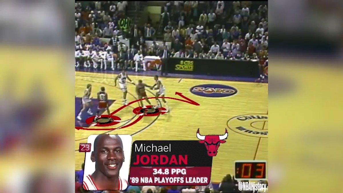Michael Jordan. Game Winner. 1989 #NBABreakdown  Episodios 5 y 6 este lunes en @NetflixES  y @MovistarNBA https://t.co/gb1OTaCFUq