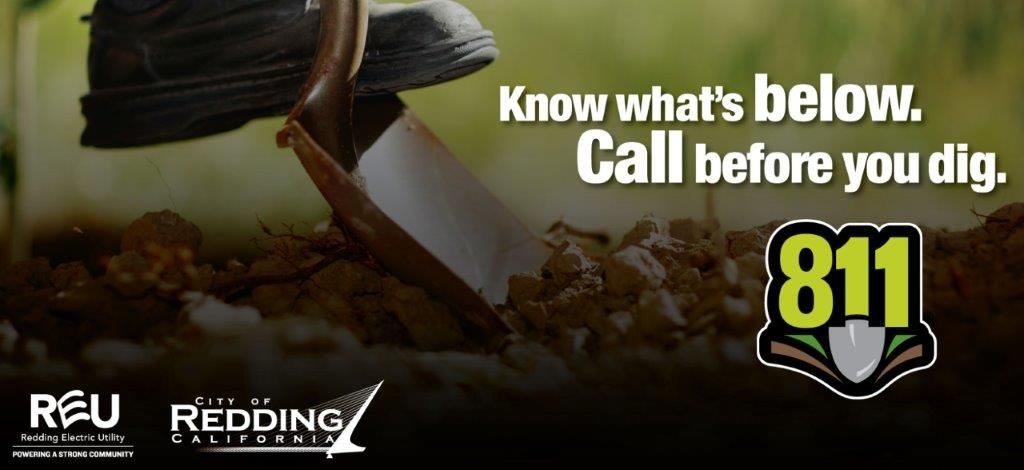 Redding Electric Utility Reu On Twitter Know What S Below Call 811 Before You Dig This Can Help Protect You And Your Family Prevent Damage To Your Property Avoid Utility Service Outages We make it easy for you to request keywords: twitter