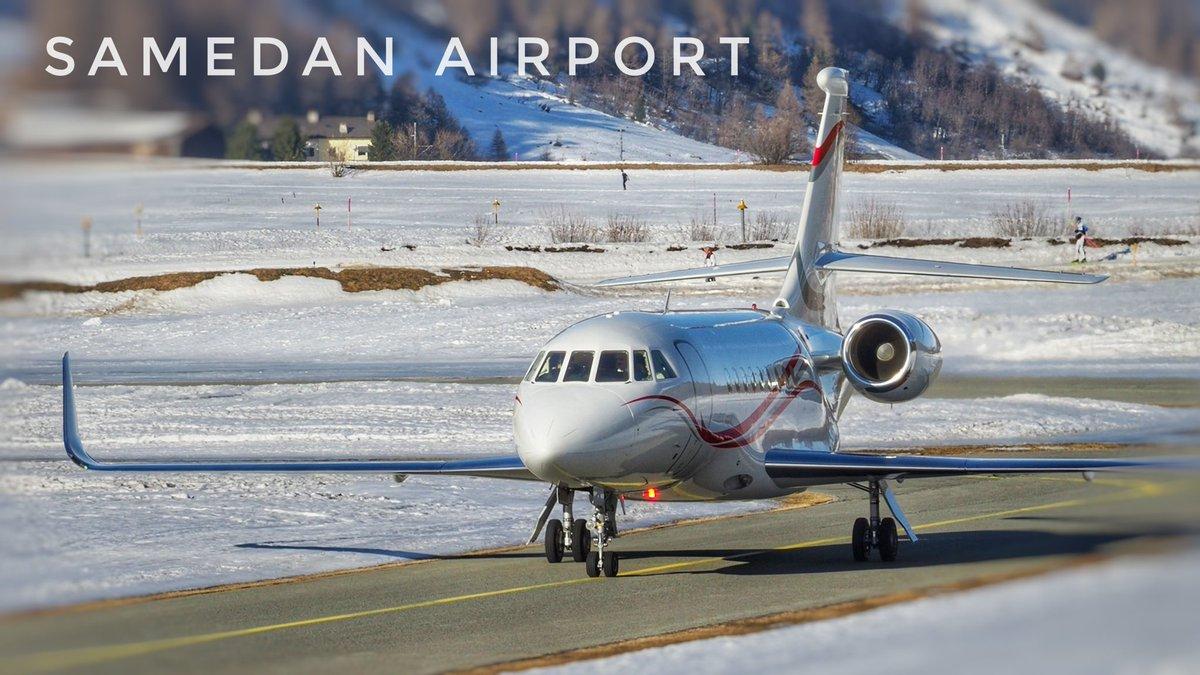 Busy Business Jet Action  Samedan Airport 22.02.2020  Video soon  on YouTube by crosswind  #vqbij #falcon2000lx #dassault #dassaultfalcon #Falcons  #privatejet #corporatejets #businessjet #planespotting #samedanaiport #EngadinAirport #stmoritz #samedan #aviation https://t.co/jJfuUxsWAf