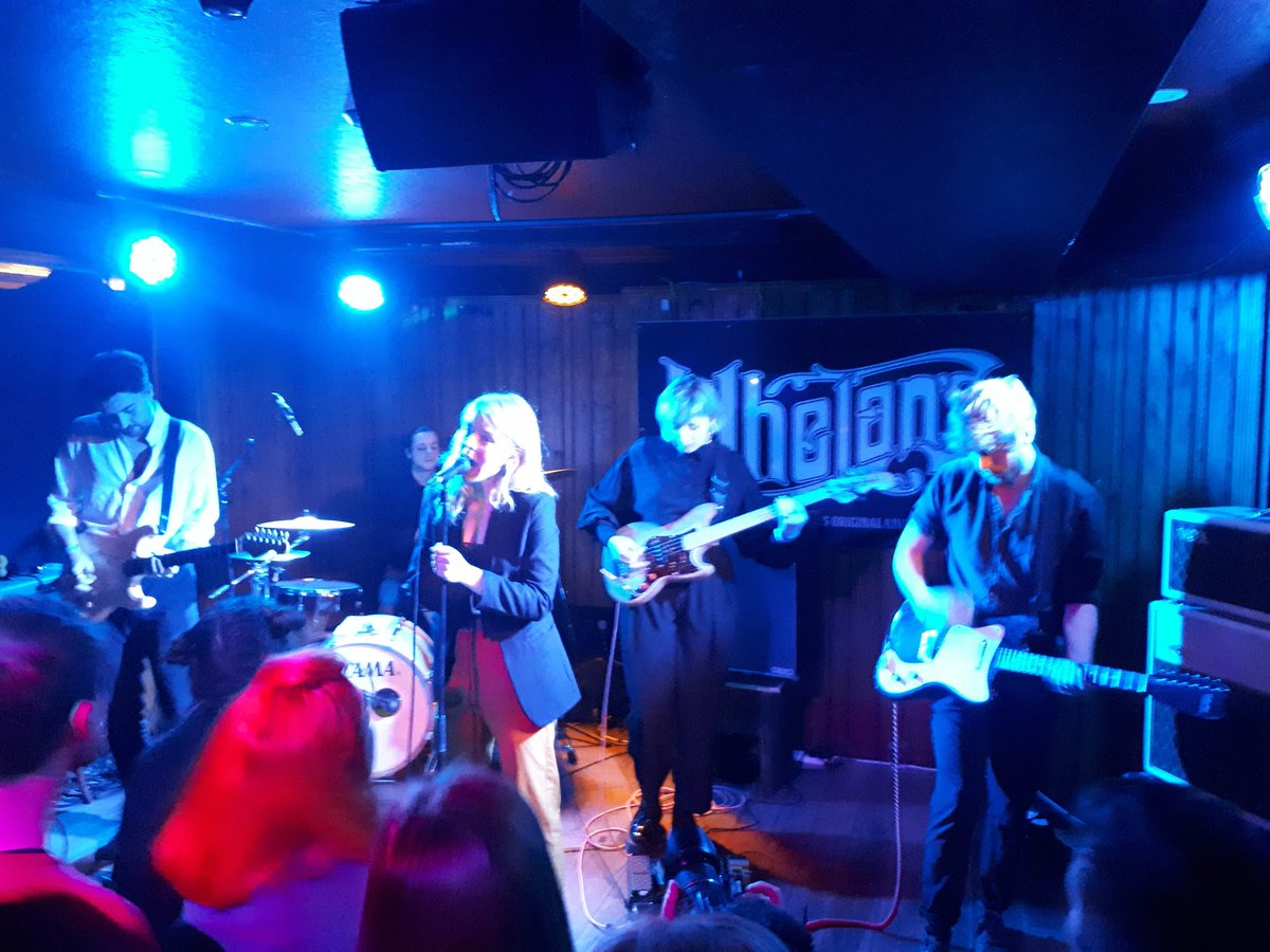 OTD 2019: @theclaqueband played their first show, upstairs at @whelanslive