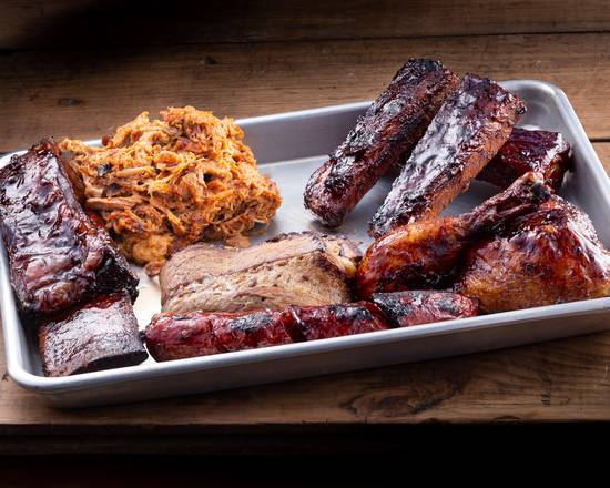 #OPEN FOR #TAKE #OUT & #UBER #EATS. MONDAY TO SATURDAY 3PM TO 8PM. WHAT BETTER WAY TO #ENJOY THIS #SUNNY #DAY THEN WITH A RACK OF SLOW #SMOKE #BBQ #RIBS AND A BEVERAGE OF  YOUR CHOICE https://t.co/2wSIkW9lb3