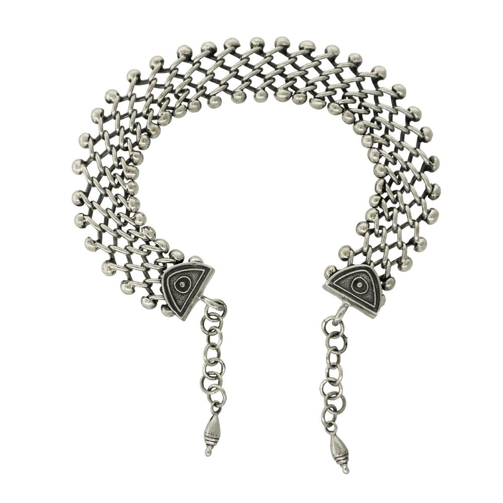 """Tabra Jewelry 925 Sterling Silver Anklet Connector Chain Vault AK27 (Large) Measurements: This Anklet Chain is approximately 8.5"""" Long. Creates an approximately 9.5"""" to 10"""" Anklet Shop Now:   #fashionjewelrydesign #tabra #handmadejewelrydesigner"""