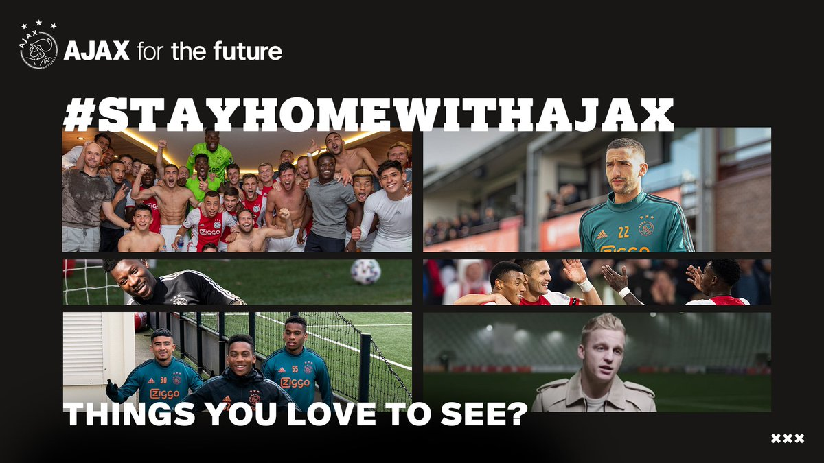 AFCAjax_EN: RT AFCAjax: Here we go again! 📮  #StayHomeWithAjax https://t.co/XAwTxBlKzv