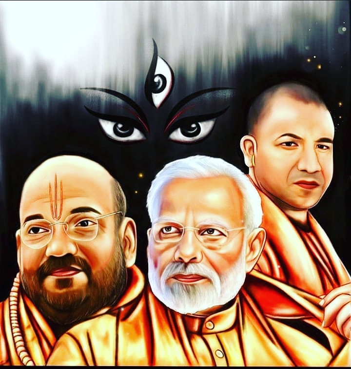 Three legends जिनके  हाथों मे देश की डोर  है   @narendramodi @amitshahofficial @yogijiofficial01 #narendramodi #narendramodifan #narendra_modi #narendramodiji #bjp #bjpmembership #bjpindia #ujalanews #pappumemes #modi #indianprimeminister #bollywood#indiansoldiers #indianpic.twitter.com/VMjTuqk98a