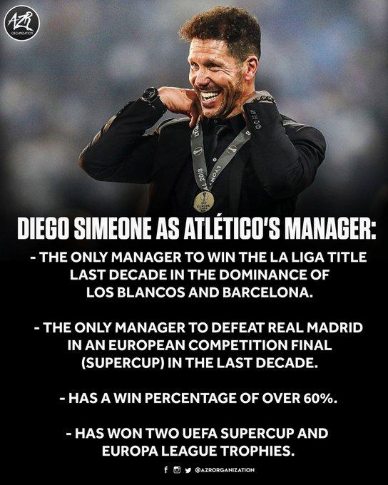 Happy Birthday To The Sir Alex Ferguson Of Atletico Madrid - Diego Simeone