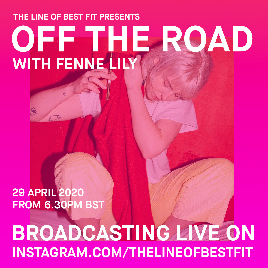 Were blessed to have the brilliant Fenne Lily drop by to play us some songs *tomorrow evening* as part of our all-new OFF THE ROAD series. Head over to our Instagram from 6:30pm BST: instagram.com/thelineofbestf… ⏰@FenneLily @DeadOceans