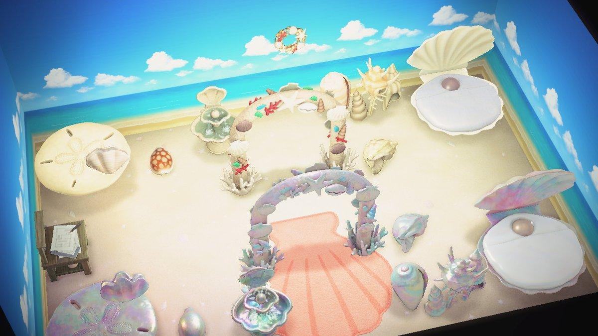 あつ森 砂浜の床