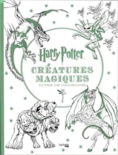 Telecharger Harry Potter Creatures Magiques Livre De Coloriage Liv