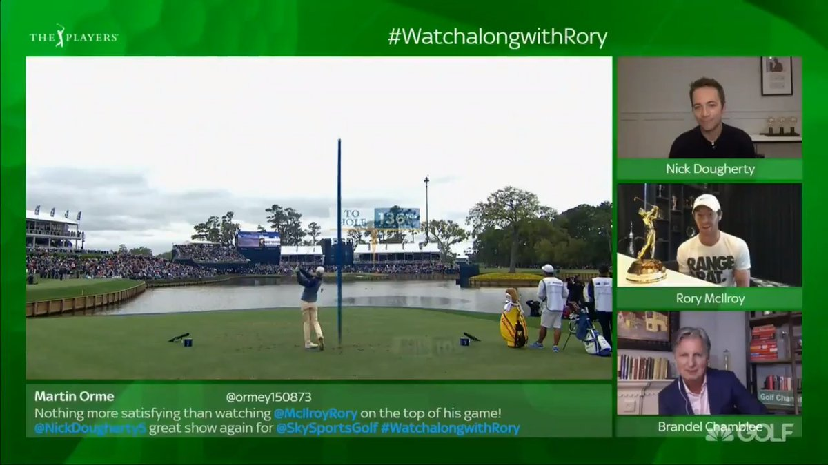 A look inside the mind of a PLAYERS Champion as he takes on the Defining Moment. 💭 #WatchalongwithRory