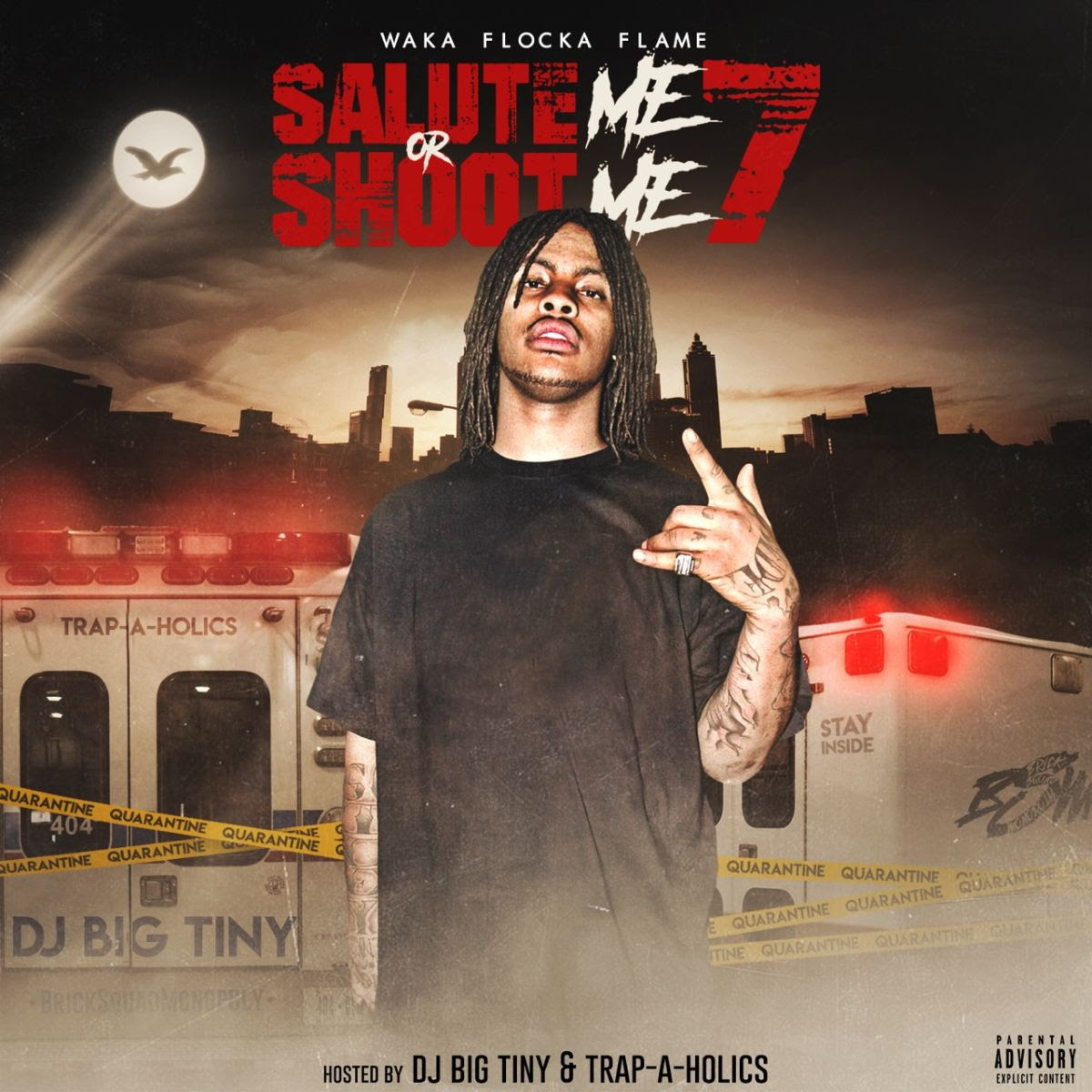 Waka Flocka Flame shares mixtape 'Salute Me or Shoot Me 7': Listen is.gd/EcThI6 @WakaFlocka