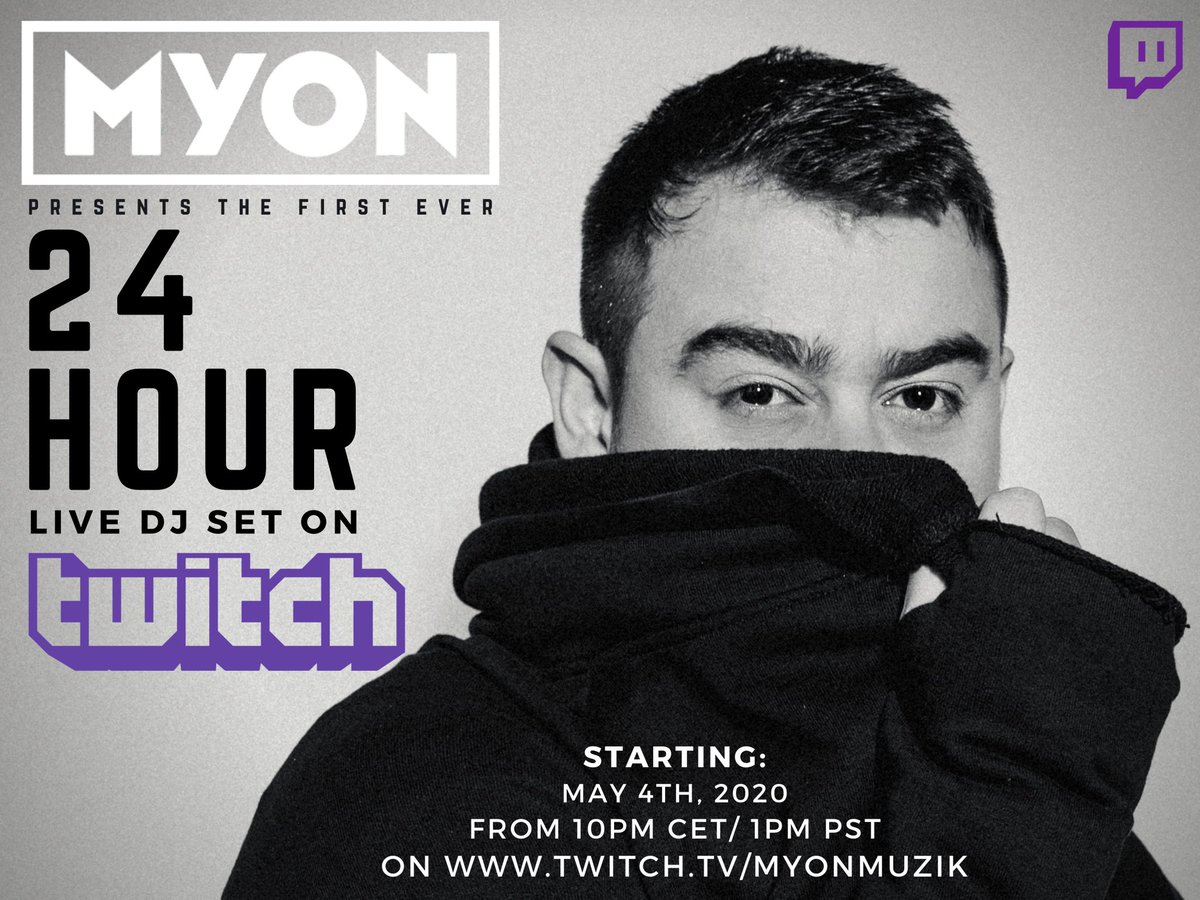 Myon Twitch Set EDMTunes Live Stream Awards