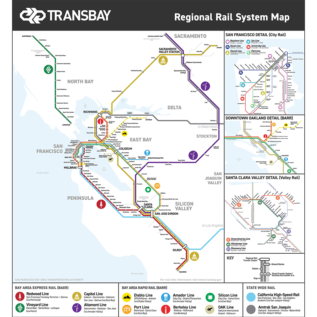 California College Of The Arts On Twitter For Our Next Student Feature Check Out Individualized Studies Student Mosesmaynez S Vision For The Bay Area S Public Transportation System For Moses Full Bio And Map of bay area rapid transit (bart) tracks. twitter
