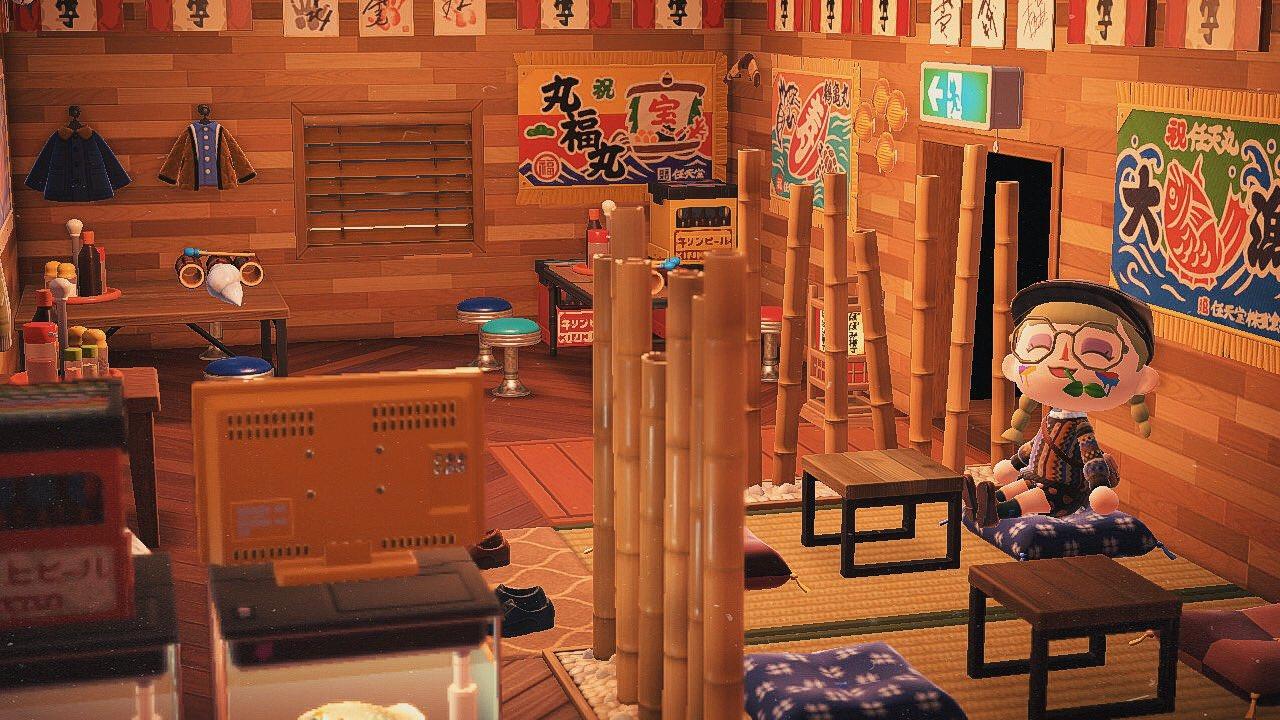 Japanese Player Recreates Famous Izakaya In Animal Crossing New