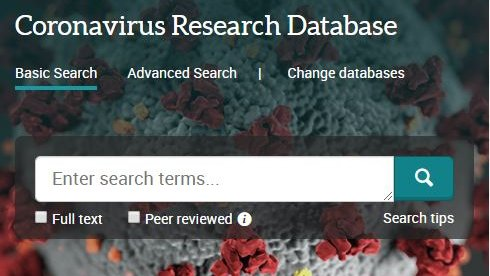 #MilneLibrary has a database that curates openly available content related to coronaviruses. Click on the databases accordion menu on https://t.co/kWMd2B8z44 and select the database. #geneseo https://t.co/uBkc4OP1DZ
