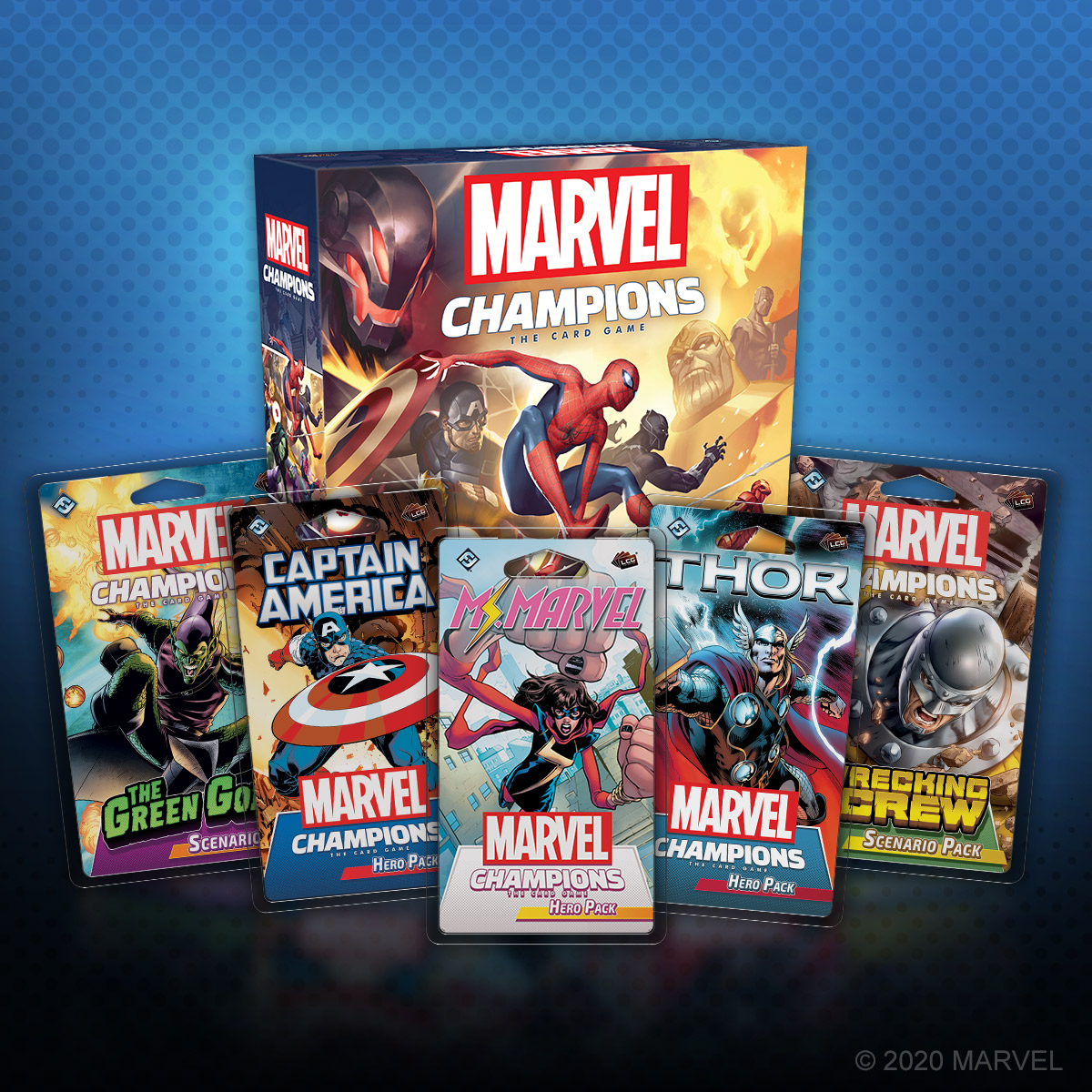 If your collection is incomplete, don't worry—all Marvel Champions: The Card Game expansions are now back in stock at United States retailers! Your local retailer may be offering curbside pickup, otherwise you can find these Hero Packs and Scenario Packs through online channels. https://t.co/yO56CDZj1x