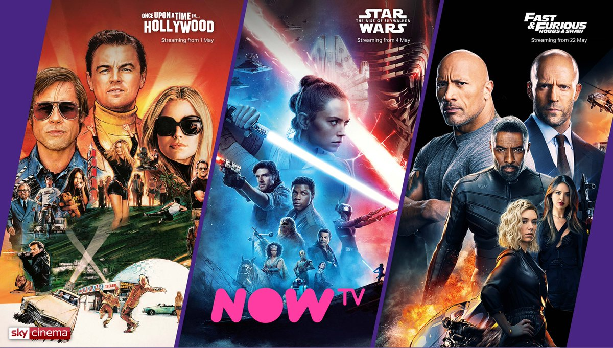 May is almost here…and a new month means new movies on the Sky Cinema Pass!  Find all the info you need about our Cinema Pass here 👇