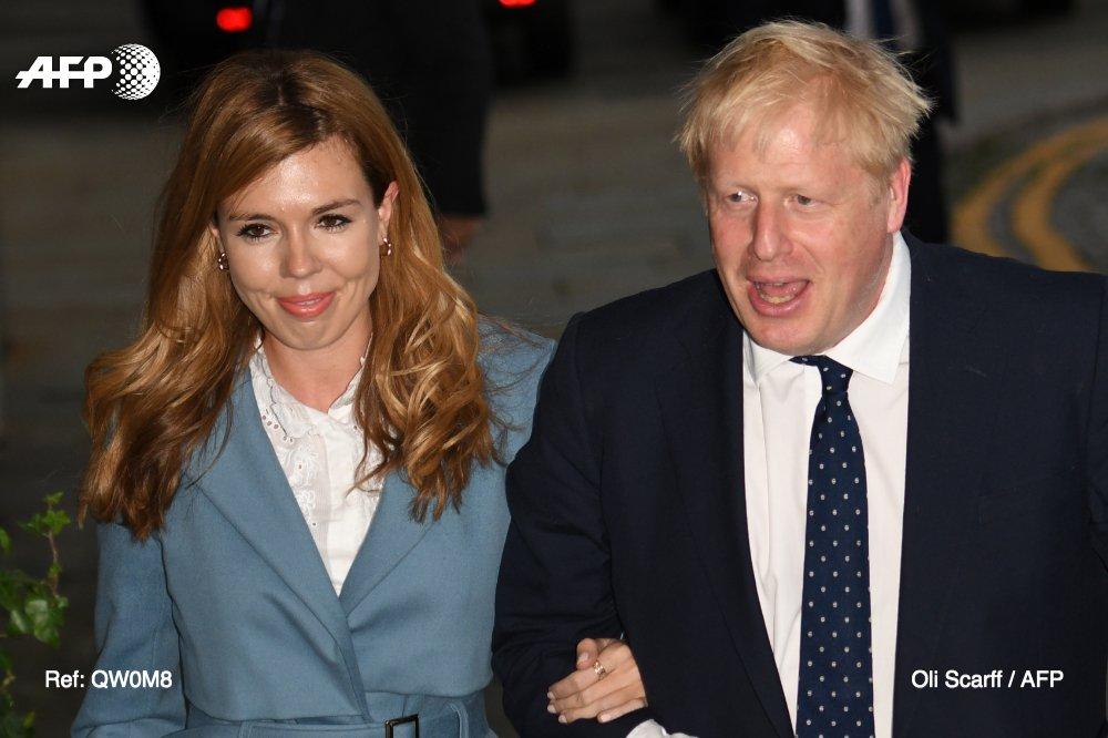 PM Inggris dan Carrie Symonds