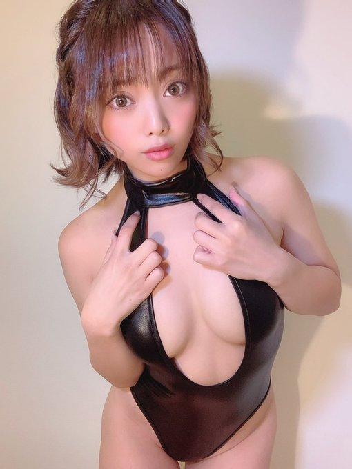 グラビアアイドル石川あんなのTwitter自撮りエロ画像50