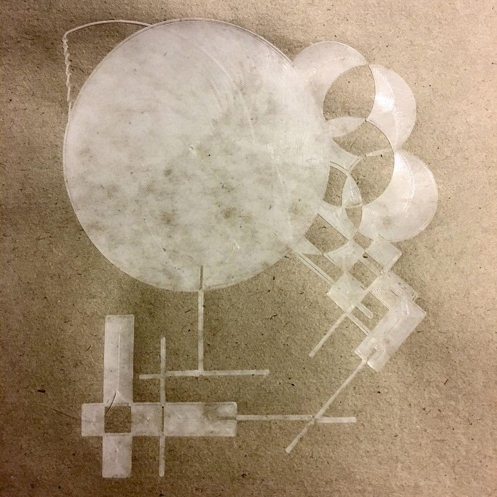 Initial result is not bad!  #design meets #robotics meets #art  #3Dprinting #3dprinter #maker #make #filament #pla #additivemanufacturing #3dprinted #3dmodel #3dart #3d #3dprinters #3dparts #3ddesign #3dmodeling #3dprint #3dprinting #3dvirals #makersmovement #makersgonnamake