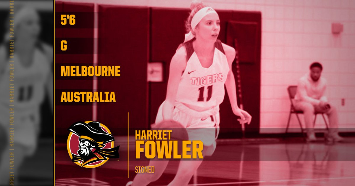 Excited to welcome the newest member of the @buccaneerswbb program @Fowler11Harriet  from Melbourne, Australia.  An Experienced combo guard who will have an immediate impact. https://t.co/x7RJQApzhX