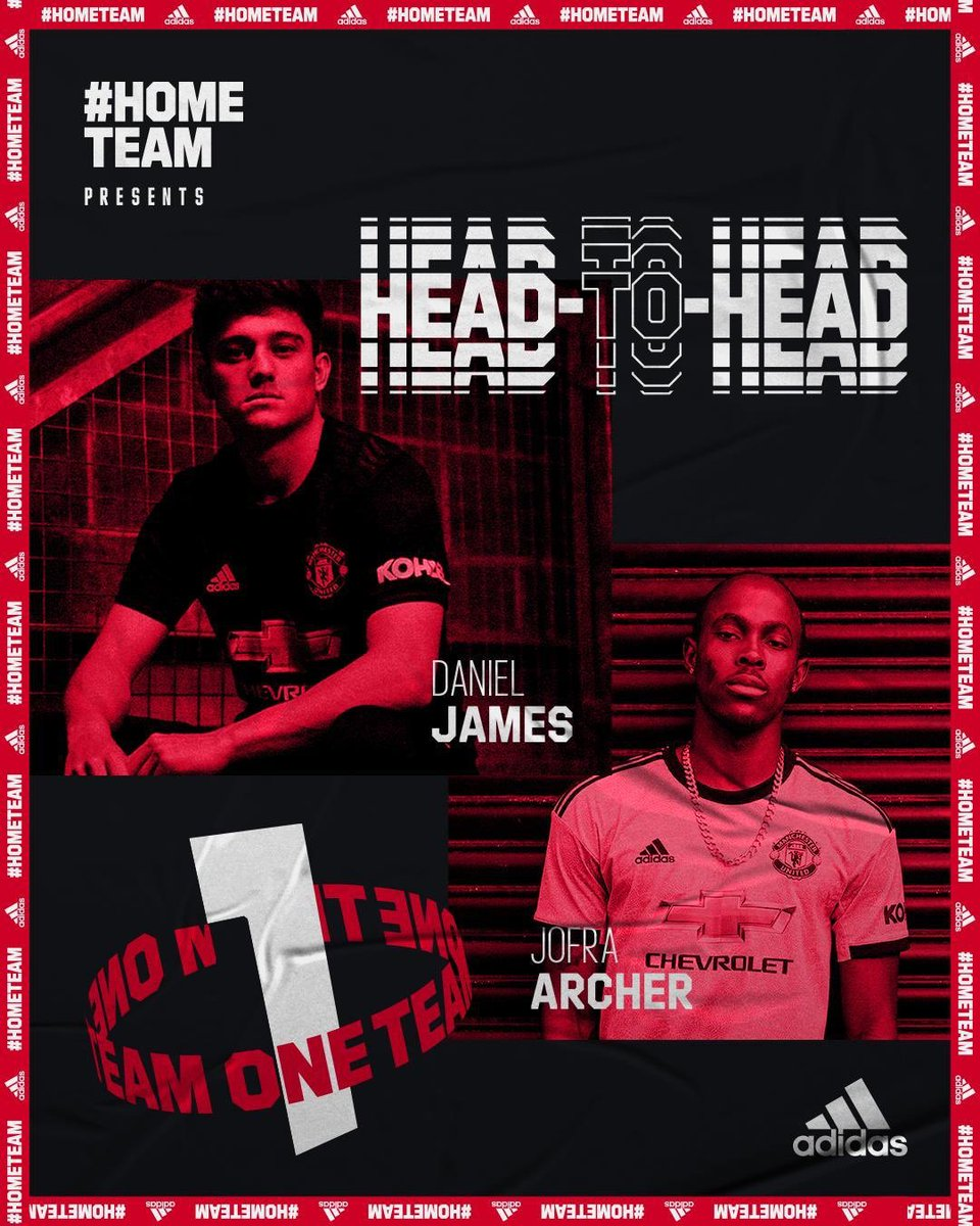 Tune into @ManUtd today to see how the dream team get on in the #hometeam Head-to-Head 💪🏼 @jofraarcher https://t.co/rP0vh8wTYz