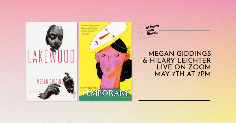 Next week (5/7), I'll be in conversation with @hilsaphina at (virtual) @LiteratiBkstore! Time is 7 Eastern.