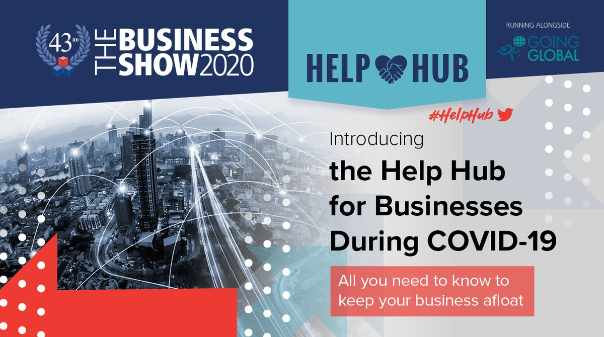 Although we remain in lockdown, here at The Business Show we are extremely proud to bring you the #HelpHub, overflowing with ideas that can help your business survive during the Coronavirus crisis!  Visit the Help Hub here - https://t.co/hZWgZwID3H #TBSUK https://t.co/o4mQNc0xx9