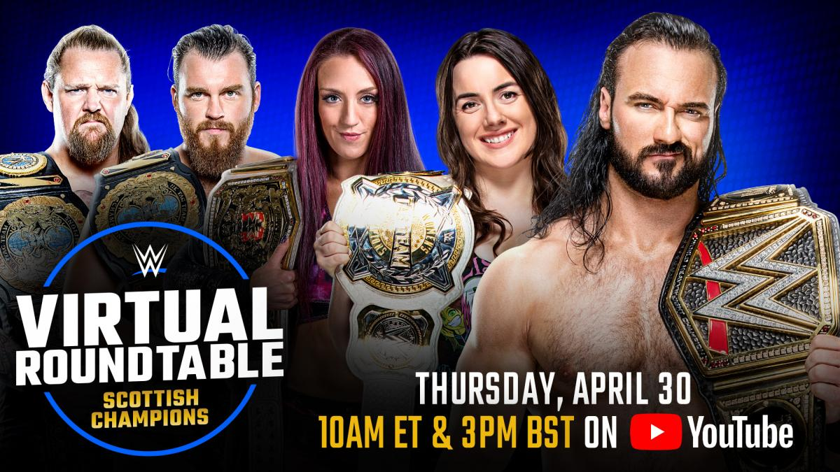 WWE Announces New Virtual Roundtable Series