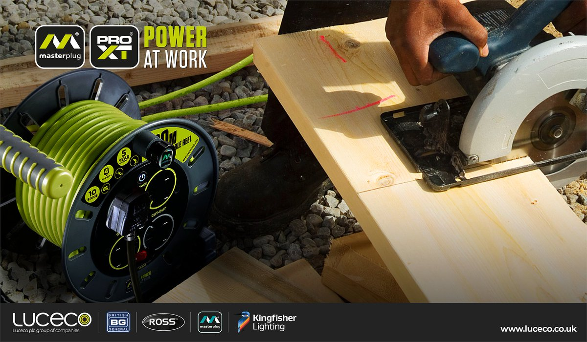 The Masterplug Pro-XT Portable Power range delivers a new level of performance and innovation, providing reliability, choice and value for end users. The professional's choice for Portable Power  #profesional #power #gardening #DIYpic.twitter.com/nj5iaLqODS