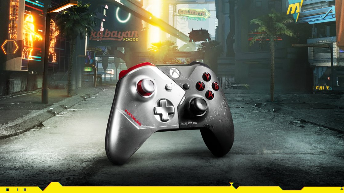 More than meets the eye 🎮  RT + Follow @XboxUK to be in with the chance of winning this unique Cyberpunk 2077 Xbox Controller  Ends 6th May 2020. T&C's ➡️ https://t.co/AYosy2p2vE https://t.co/ZMadKT7GQr