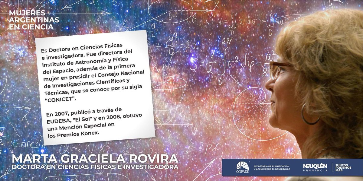 🔬👩🏻🔬🇦🇷#MujeresDestacadas de la #CienciaArgentina Hoy: Marta Graciela Rovira. Dra. en Ciencias Físicas e investigadora. #PremioKonex #aprenderencasa @OmarGutierrezOk @ColantuonoPablo @CONICETDialoga @ciencia_ar
