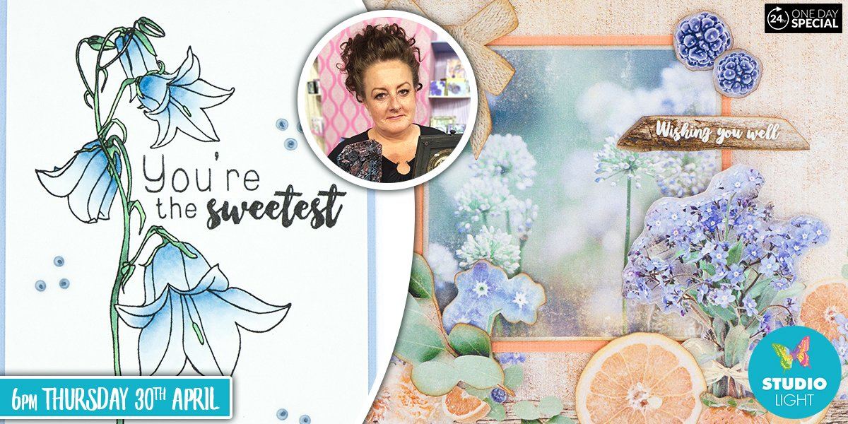 Join us tomorrow night from 6pm for the launch of the brand new Summer Breeze collection from Studio Light with Lou Withers   With stunning dies, stamps and papers, this is a collection you will not want to miss out on. #StudioLight #Hochanda #PaperCraft #Summerpic.twitter.com/wBKTR0lNvQ