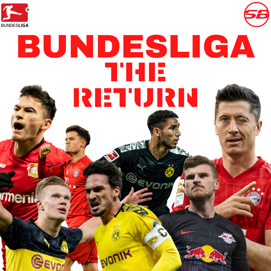 If the German Government agrees, the #Bundesliga will return on May 9th⚽🙄..Is it too soon? What are your thoughts??? #Bundesliga_Return #Supabets  Register Now https://t.co/XmbbHum4MR https://t.co/evRThxiDIT