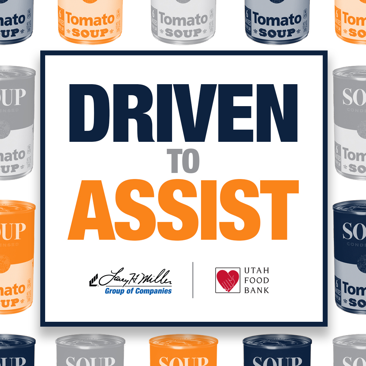The Larry H. Miller Group of Companies is joining together with @utahfoodbank to help our neighbors:  April 30 - May 6 from 2-6pm. Our dealerships, theatres, and venues will become donation sites for nonperishable food items.   #DriventoAssist