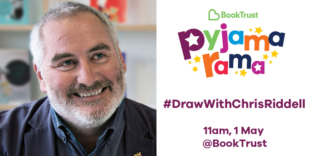 Pyjamarama - Draw with Chris Riddell, 11am on 1 May