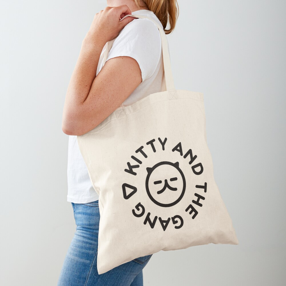 Kitty and the Gang new logo (Black Edition) for sale on @redbubble Link: https://t.co/9Tw9pV3029 #kittyandthegang #totebag #YouTube #logo https://t.co/TIfvvjN2ws