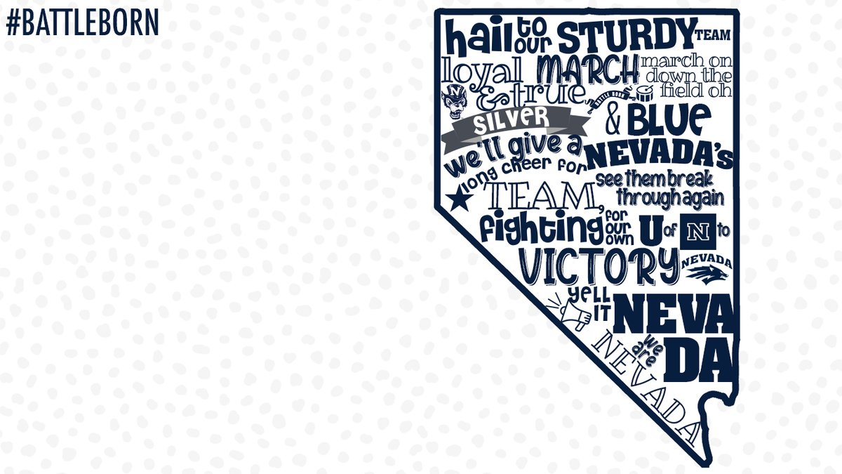 Nevada Wolf Pack On Twitter Hail To Our Sturdy Team Happy Wallpaper Wednesday Show Off Your Nevada Pride With A New Zoom And Iphone Background Battleborn Https T Co Xcvezznypx
