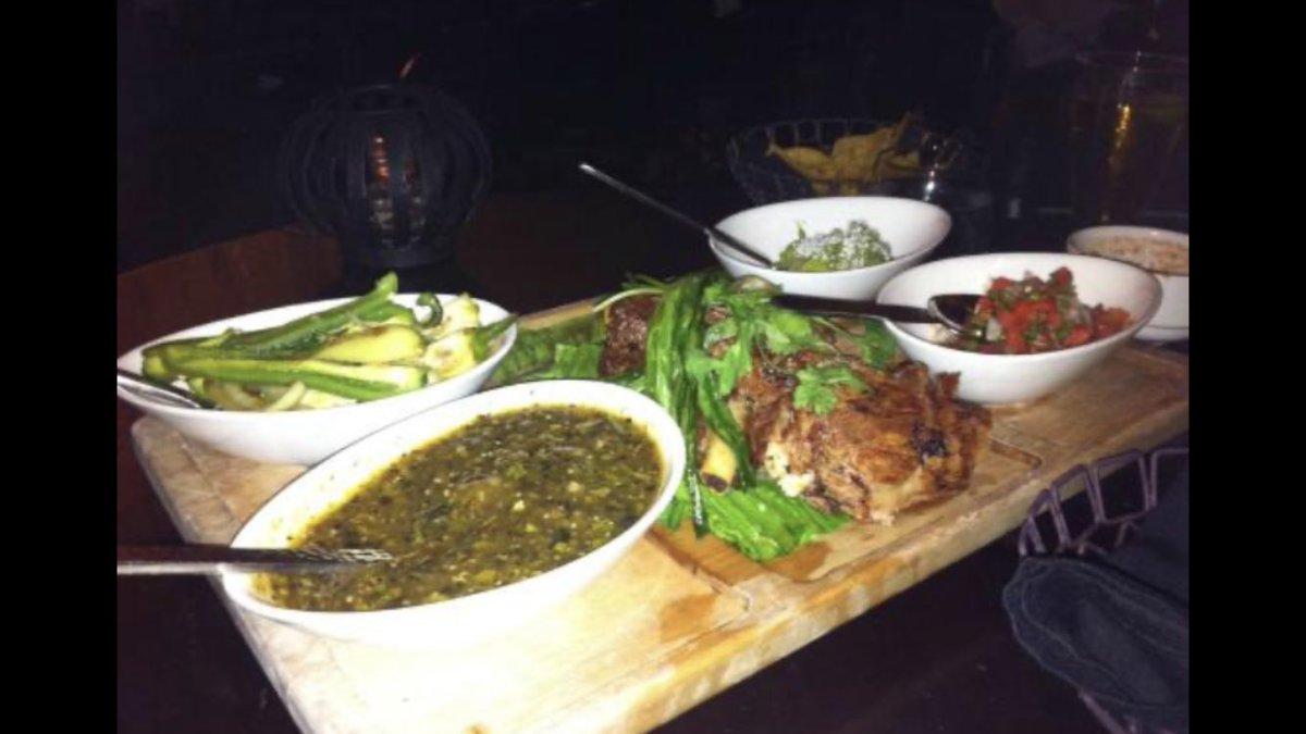 @hard8boss @kamidawn DIY taco platter at Javier's in @AriaLV