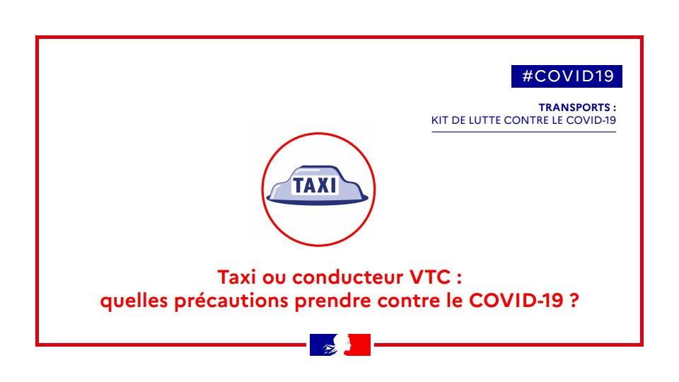 Covid-19 : des taxis qui s'adaptent dans l'Oise